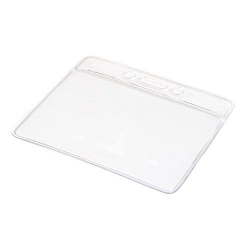 Weichplastikhülle horizontal, transparent