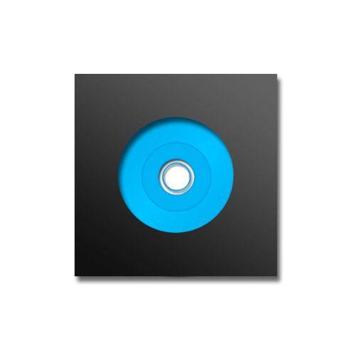 SHOWCASE 006 VINYL DISC, schwarz, VPE 25 Stk.