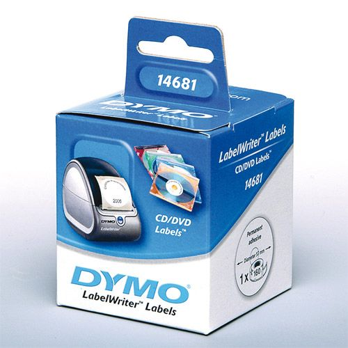 Dymo 14681 CD/DVD Etiketten