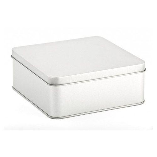 Quadratische Weißblechdose DSQ 010, VPE 40 Stk.