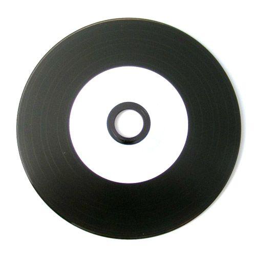 CD-R 700MB Inkjet Vinyl Style, White Coated, VPE 50 Stk.