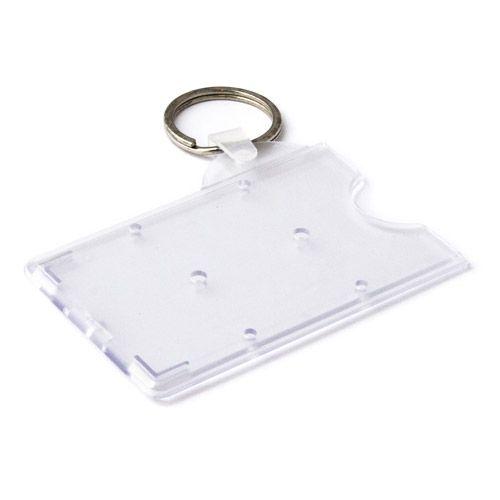 Hartplastikhülle mit Schlüsselring