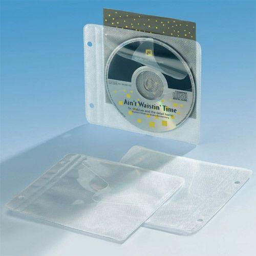 CD Einhefter PP mit Vlies, VPE 25 Stk.