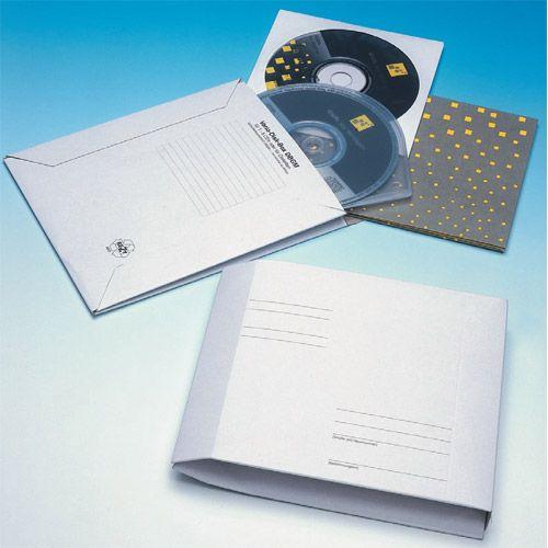 CD-Kartonfaltentasche 150 x 180 mm, VPE 50 Stk.