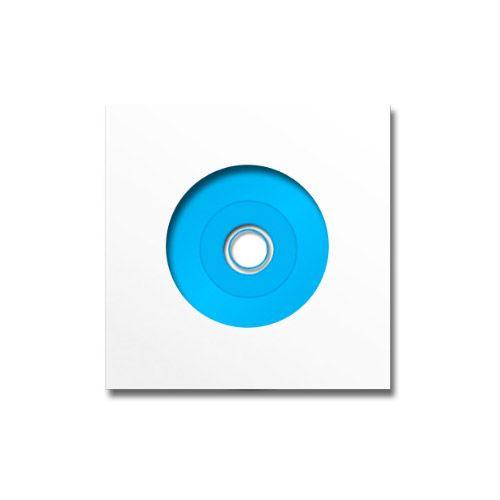 SHOWCASE 006 VINYL DISC, weiß, VPE 25 Stk.