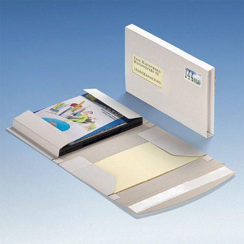 DiscBox DVD, Großbrief mit Selbstklebe-Verschluss, VPE 20 Stk.