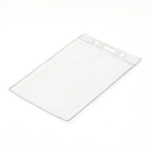 Weichplastikhülle vertikal, transparent
