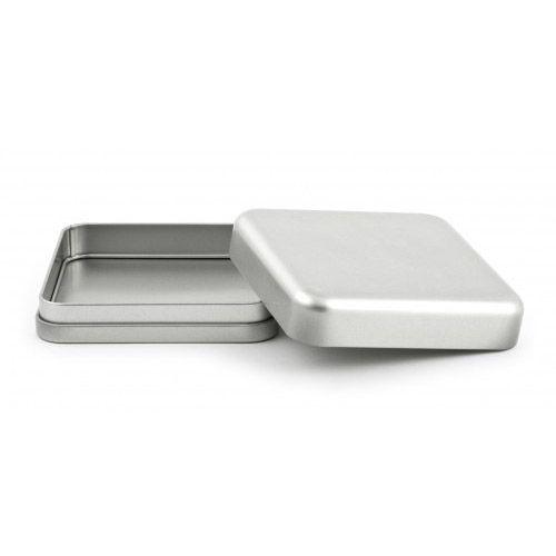 Quadratische Weißblechdose DSQ 005, VPE 50 Stk.