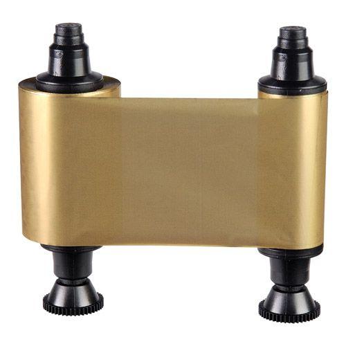 Gold Monochrom Ribbon für Pebble / Dualys / Quantum