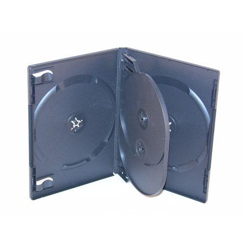 4er DVD Box, schwarz, VPE 25 Stk.