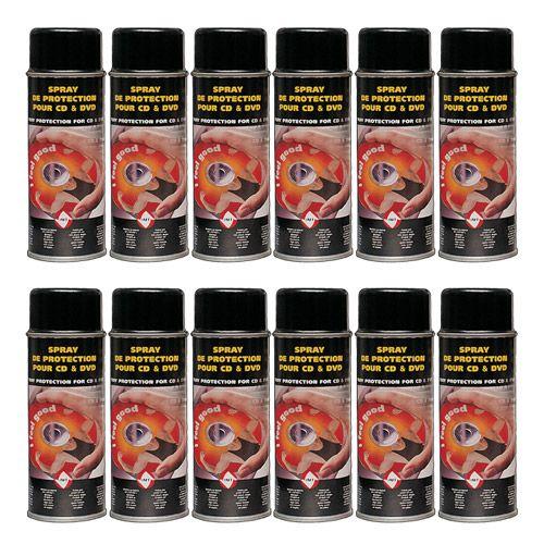 CD/DVD Protection Spray, 12 Dosen