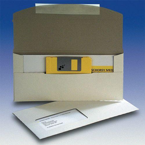 DiscMail D1 mit Fenster, mit Selbstklebe-Verschluss, VPE 50 Stk.