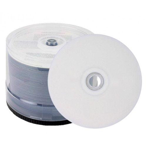 DVD+R Dual Layer 8.5GB INKJET WHITE FS, VPE 50 Stk.