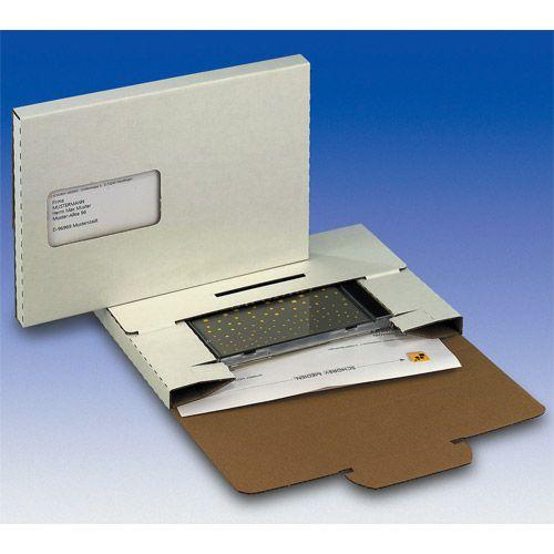 DiscBox CD1, Adressfenster ausgestanzt, VPE 25 Stk.