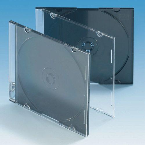 Slim Box mit Rücken schwarz, VPE 50 Stk.