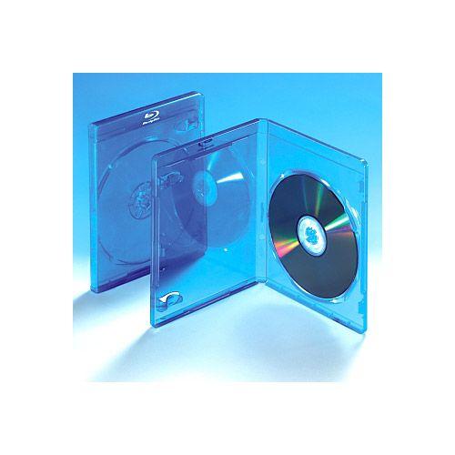Blu-ray Box Standard, blau, VPE 25 Stk.